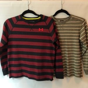 """Boy""""s Under Armour long sleeve thermal shirt-YL"""